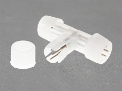 Комплектующие для   LED  круглого дюралайта   220V, соединительный коннектор