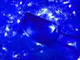 LED Айсикл Лайт Светодиодная бахрома с нитями 0,2/0,3/0,4/0,6 м. с контроллером, синий