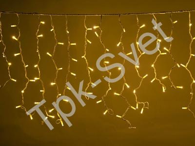 LED Айсикл Лайт Светодиодная бахрома нити по 0,6/0,8/0,9 м., без контроллера, теплый белый