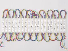 Модуль светодиодные SMD5050 RGB, DC 12V, мощность 0,72 Ватт
