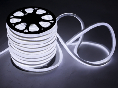 LED Неон-Флекс 13х15х27 мм, 2 жилы, белый