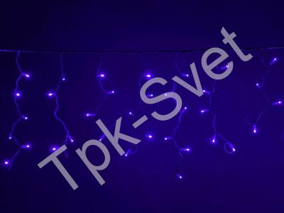 LED Айсикл Лайт Светодиодная бахрома , с нитями 0,4/0,5/0,6 м., без контроллера, синий