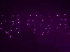 LED Айсикл Лайт Светодиодная бахрома , с нитями 0,4/0,5/0,6 м., без контроллера, розовый