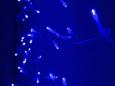 LED Плей-лайт Световой дождь без контроллера, 2х1,5 м, синий