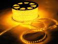 Светодиодный SMD дюралайт 3528, IP65, 0,6х0,8 мм, желтый