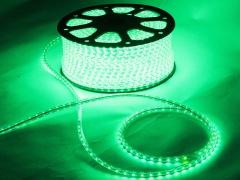 Светодиодный SMD дюралайт 3528, IP65, 0,6х0,8 мм, зеленый