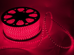 Светодиодный SMD дюралайт 3528, IP65, 0,6х0,8 мм, красный