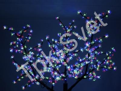 """Светодиодное дерево """"Сакура"""", размер 1.8*1.5 метра, мульти"""