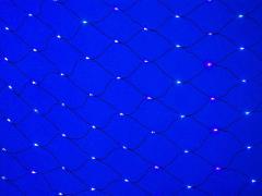 LED Нет-лайт Светодиодная сеть с контроллером, 2х1 м, синий