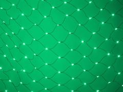 LED Нет-лайт Светодиодная сеть с контроллером, 2х2 м, зеленый