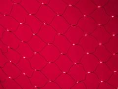 LED Нет-лайт Светодиодная сеть с контроллером, 2х2 м, красный