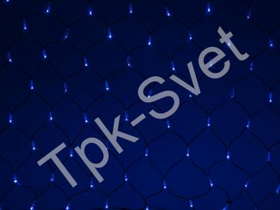 LED Нет-лайт Светодиодная сеть без контроллера, 2х1 м, синий