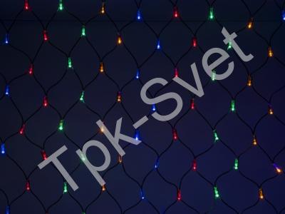LED Нет-лайт Светодиодная сеть без контроллера, 2х2 м, мульти
