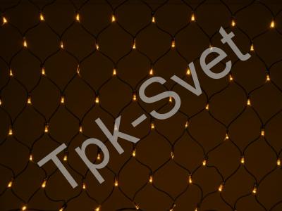 LED Нет-лайт Светодиодная сеть без контроллера, 2х3 м, желтый