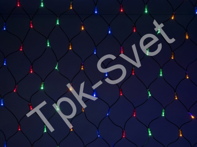 LED Нет-лайт Светодиодная сеть без контроллера, 2х3 м, мульти