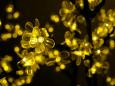 """Светодиодное дерево """"Сакура"""", размер 1.8*1.5 метра, с трансформатором, желтый"""