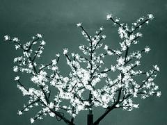 """Светодиодное дерево """"Сакура"""", размер 3.6*3 метра, белый"""