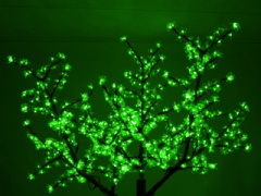 "Светодиодное дерево ""Сакура"", размер 3.6*3 метра, зеленый"