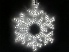 Снежинка LED 60х60 см белая