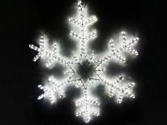 Снежинка LED 95х95 см белая