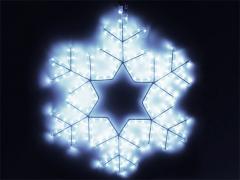 Снежинка LED 60 х 60 см, белая