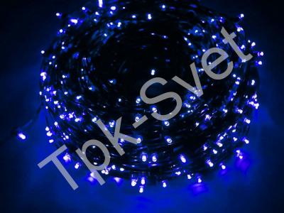 Светодиодный Клип Лайт, с трансформатором в комплекте, синий