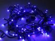 Светодиодная гирлянда Твинкл Лайт, 20 метров, с контроллером, синий