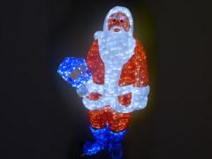 """Светодиодная фигура """"Дед Мороз"""", высота 160 см"""