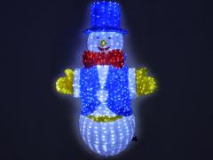 """Светодиодная фигура """"Снеговик"""", высота 200 см"""