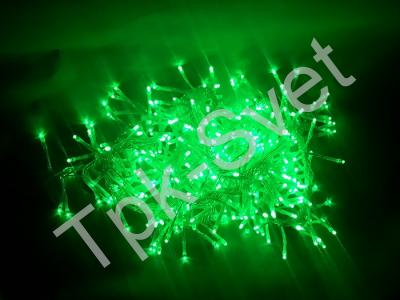 """Светодиодная гирлянда """"Криспи"""", с контроллером, зеленый"""