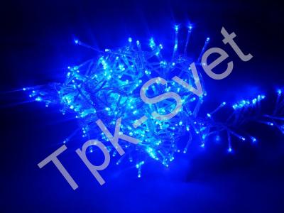 """Светодиодная гирлянда """"Криспи"""", с контроллером, синий"""