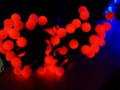 """Шарики """"maxi"""", 10 метров, без контроллера, диаметр шарика 24 мм, красный"""
