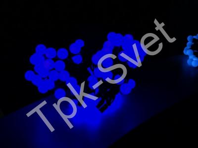 """Шарики """"maxi"""", 10 метров, без контроллера, диаметр шарика 24 мм, синий"""