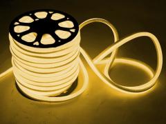 LED Неон-Флекс 13х15х27 мм, 2 жилы, теплый белый