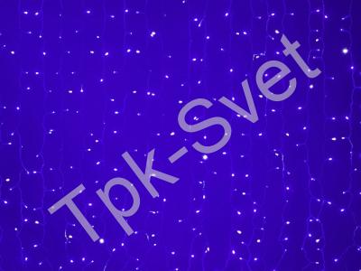 LED Плей-лайт Flash с эффектом мерцания Световой дождь 2х1,5 м, синий