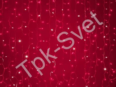 LED Плей-лайт Flash с эффектом мерцания Световой дождь 2х3 м, красный