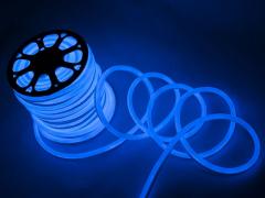 LED Неон-Флекс 13х15х27 мм, 2 жилы, синий