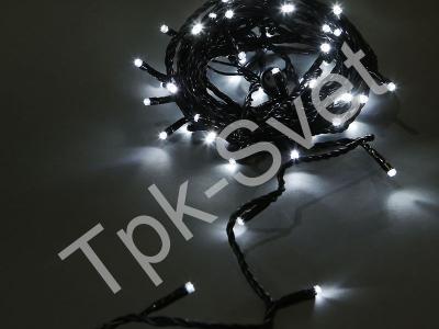 Светодиодная гирлянда Стринг Лайт, 6 м, без контроллера, белый