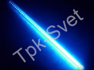 "LED Гирлянда ""Тающая сосулька"", размер 100 см, двухсторонняя, синий"