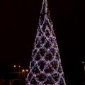 Декорирование новогодней елки LED мотивами