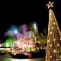 Дизайн елки новогодними светодиодными гирляндами