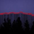 Световое оформление высотных зданий 5