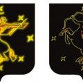 Световое оформление герба города