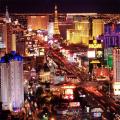 Вид города Лас-Вегас
